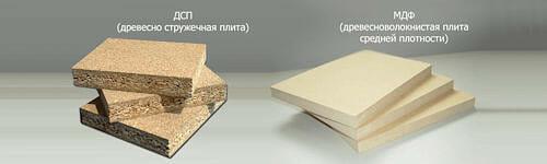 Анатомия мебели. МДФ или ДСП?