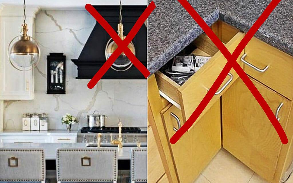 ТОП 15 ошибок при планировании кухни