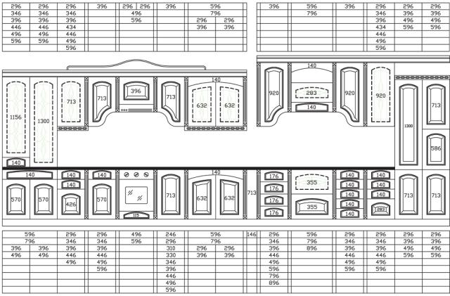 Анатомия мебели. Выбираем фасады.
